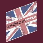 London 2012 - Londinium MMXII Union Jack  by Lordy99