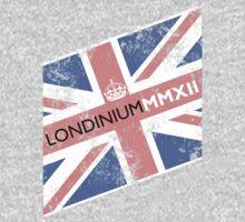 London 2012 - Londinium MMXII Union Jack  Kids Tee