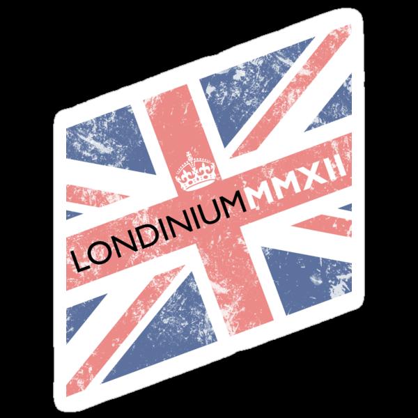 London 2012 - Londinium MMXII Union Jack  by Lordy99