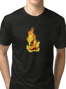 The Self-Immolation of Thích Quảng Ðức Tri-blend T-Shirt