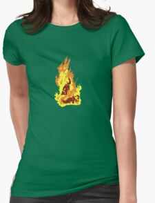 The Self-Immolation of Thích Quảng Ðức Womens Fitted T-Shirt