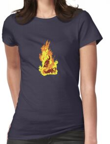 The Self-Immolation of Thích Quảng Ðức Womens Fitted T-Shirt