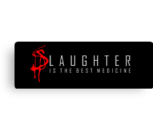 Slaughter Canvas Print