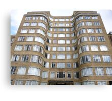 London Deco: Florin Court 1 Canvas Print