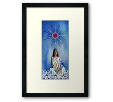 Priestess Of Avalon Framed Print