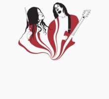 Jack and Meg White by Dylan DeLosAngeles
