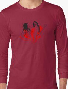 Jack and Meg White Long Sleeve T-Shirt