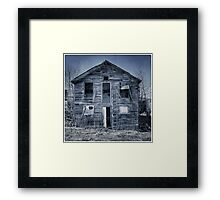 Weathered & Worn-out Framed Print