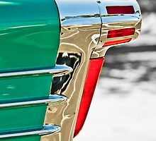 1958 Oldsmobile 98 Taillight by Jill Reger