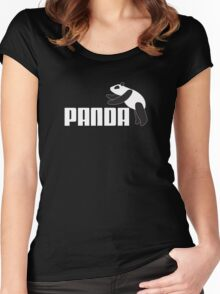 Panda Athletics Women's Fitted Scoop T-Shirt