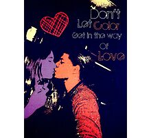 Dont let color get in the way Photographic Print