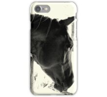 Inquisitive B&W iPhone Case/Skin