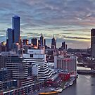 Sunrise Over Melbourne by peterperfect