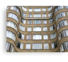 London Deco: Florin Court 2 Canvas Print