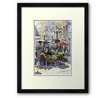 Prague Mustek First Heat Framed Print