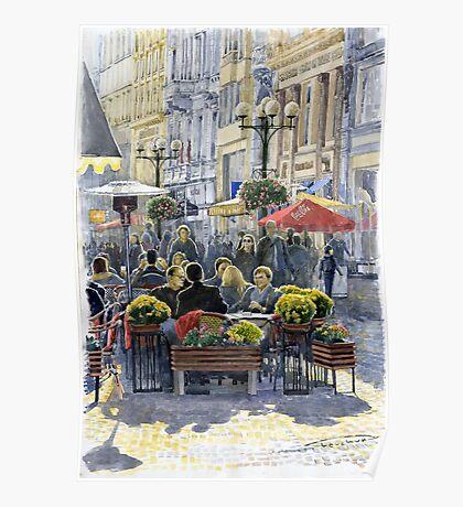 Prague Mustek First Heat Poster