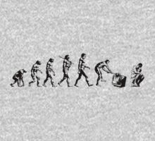 Evolution of The Thinker One Piece - Long Sleeve