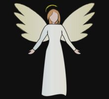 Guardian Angel Shirt by Daniel Bowers