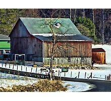 The Winter Homestead Photographic Print