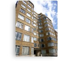 London Deco: Florin Court 3 Canvas Print