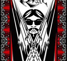 Leon Russell, Rock & Roll Hall of Fame, Commemorative Art by L. R. Emerson II by L R Emerson II