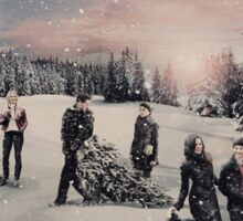 Christmas - OUAT Group Sticker