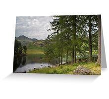 Blea Tarn Lake District National Park Greeting Card