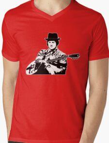 Blues Baby (on dark) Mens V-Neck T-Shirt
