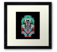 Leon Russell Upside-Down Art by L. R. Emerson II, Series 1 Framed Print