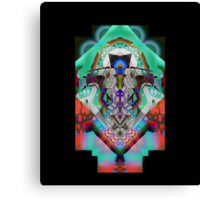 Leon Russell Upside-Down Art by L. R. Emerson II, Series 1 Canvas Print