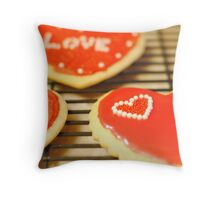 Love Cookies Throw Pillow