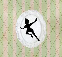 Peter Pan Lace Silhouette by joshda88