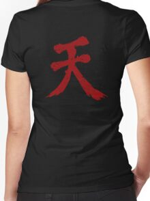 Shun Goku Satsu Women's Fitted V-Neck T-Shirt