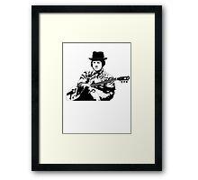 Blues Baby Framed Print