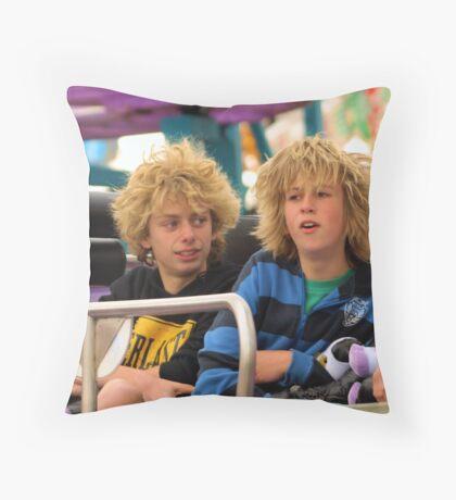 Fun of the Fair Throw Pillow