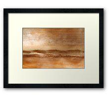 Desert Tranquility Framed Print