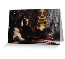 Christmas - Magical Rumbelle Greeting Card
