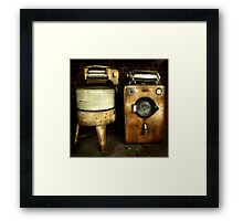 The odd couple ~ Living Museum, Junee NSW Framed Print