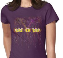 WOW-t Womens Fitted T-Shirt