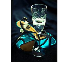 Glass Slipper Photographic Print