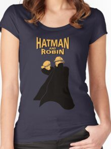 Hatman and Robin Women's Fitted Scoop T-Shirt