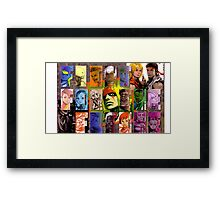 Fight for the Future- Street Fighter 3 Framed Print