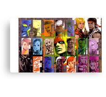 Fight for the Future- Street Fighter 3 Canvas Print