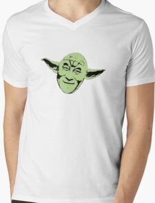 Dalai Yoda Mens V-Neck T-Shirt