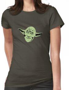 Dalai Yoda Womens Fitted T-Shirt