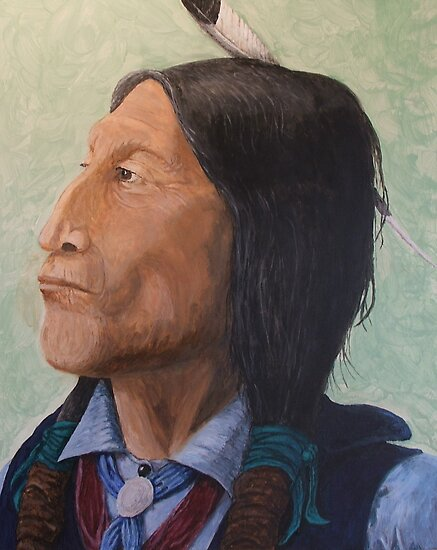 Wolf Robe Cheyenne Chief by MrDavid