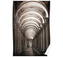 Arched Cafes Poster
