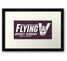 Flying V Hockey Academy Framed Print