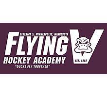 Flying V Hockey Academy Photographic Print