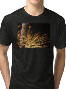 Feathery Fireworks Tri-blend T-Shirt